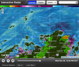 Northeast Ohio: Snow Northwest Ohio: Snow Southwest Ohio: Snow Southeast Ohio: Rain