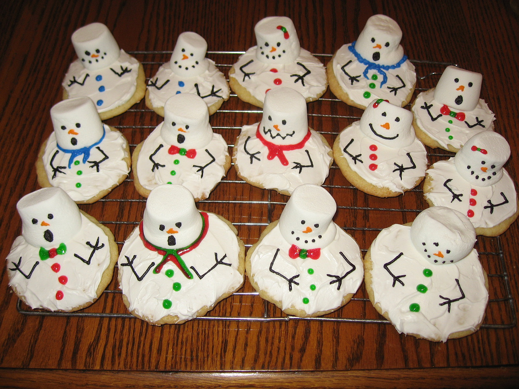 melted snowman cookies and tutorial cakecentral com ...